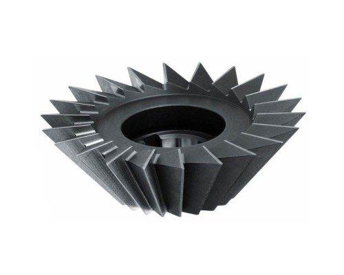 Фреза двухугловая несимметричная насадная 40х10х80 гр. Р6М5