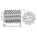 Фреза червячная М2,5 кл АА <20 2510-4018 фото 4