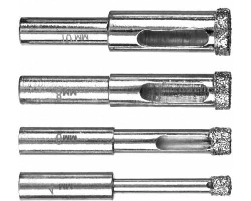 Сверло алмазное 4мм - трубчатое с алмазным напылением