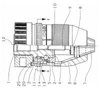Патрон сверлильный самозажимной ПСС-13 В18 (1,0-13 мм)
